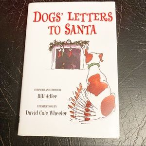 """""""Dogs' Letters To Santa"""" Book By Bill Adler"""